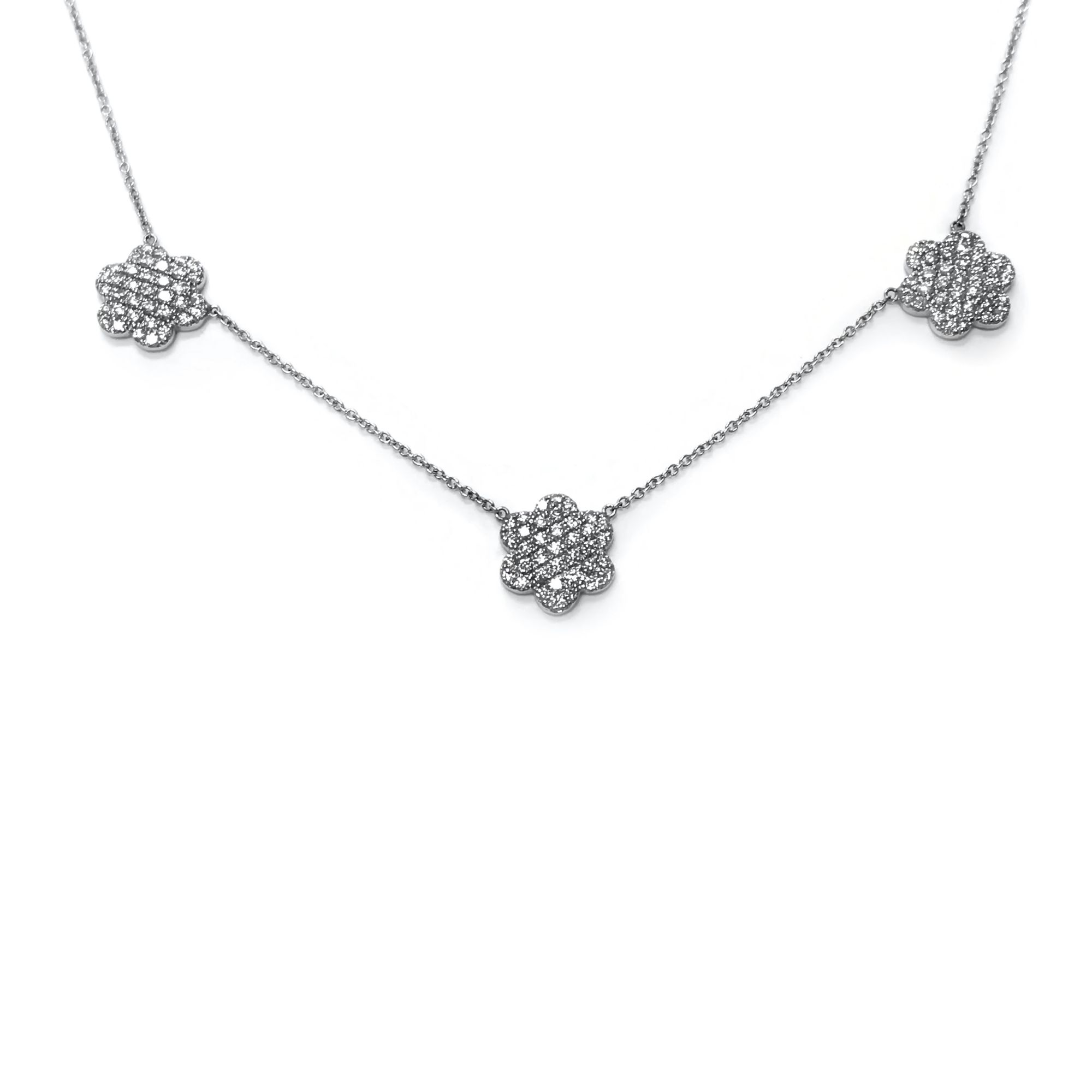 dsc diamond cheap necklace pave square